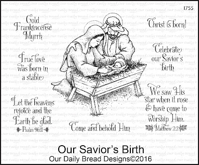 Our Daily Bread Designs Stamp Set: Our Savior's Birth