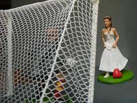 sposa calciatrice calcio femminile idee regalo sposa anniversario orme magiche
