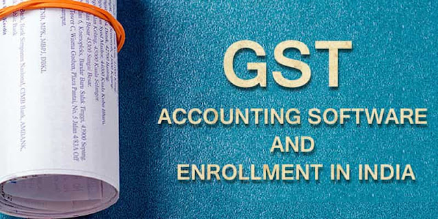 GST Accounting Software Enrolment Procedure India