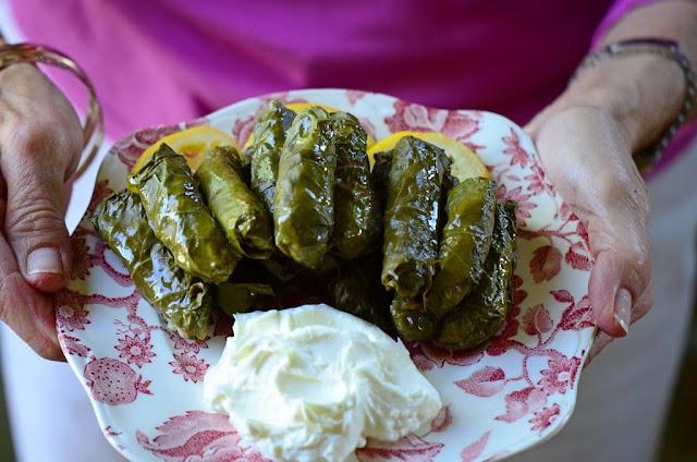 Grape leaf rolls