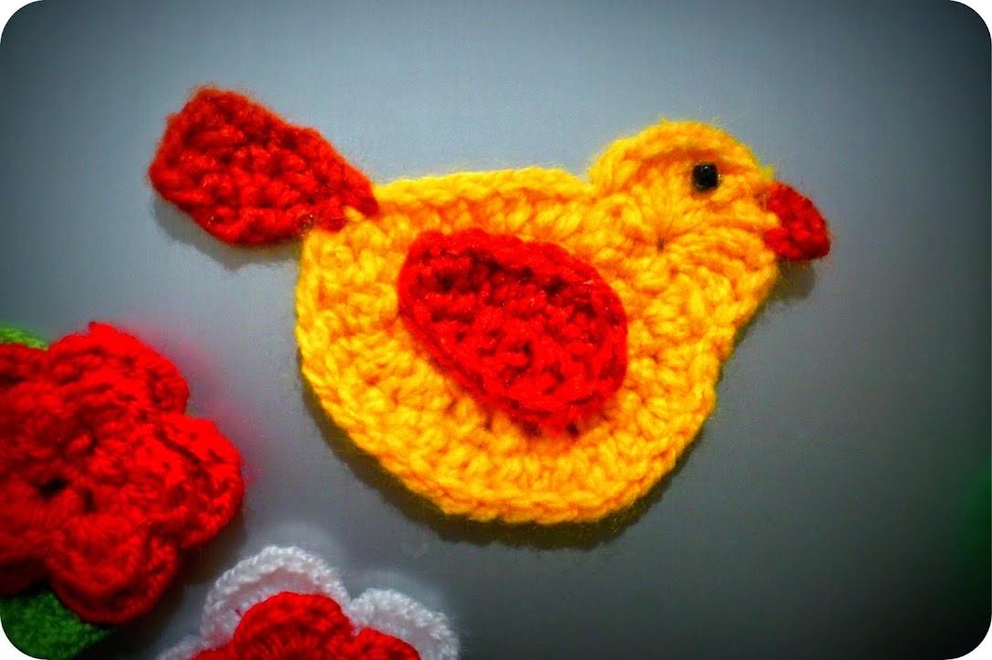 Amigurumi Pajarito a Crochet