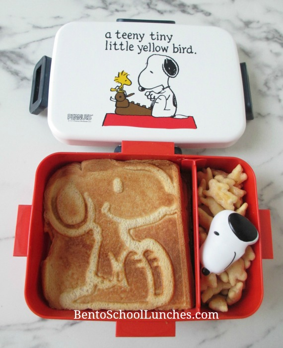 Snoopy Grilled Cheese Sandwiches