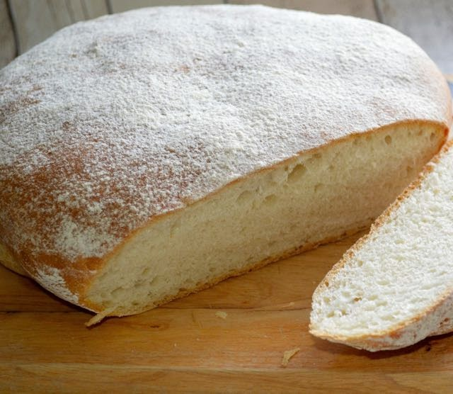 Italian Style Bread Straight From The Oven