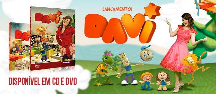 dvd diante do trono infantil davi