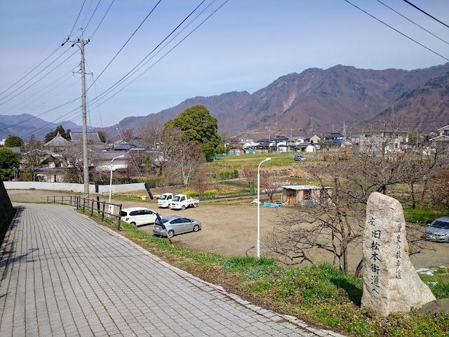 上田城 旧松本街道