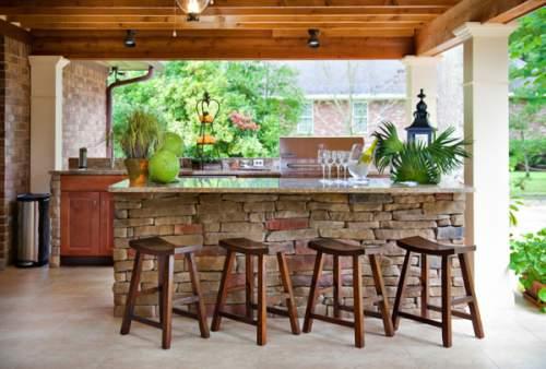 Inspirasi Aneka Desain Dapur Outdoor Cantik Dan Keren Dapur Modern