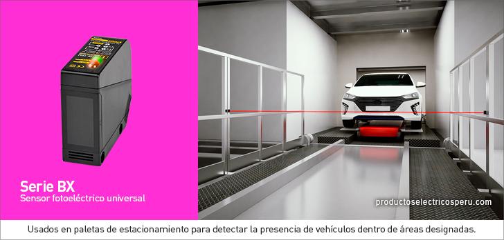 Sensor fotoelectrico universal Serie BX - Autonics Peru