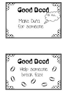 Good Deeds Cards