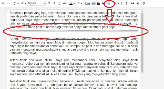Cara Tercepat Mengatur Jumlah Tampilan Postingan Di Halaman Depan Atau Utama Blog