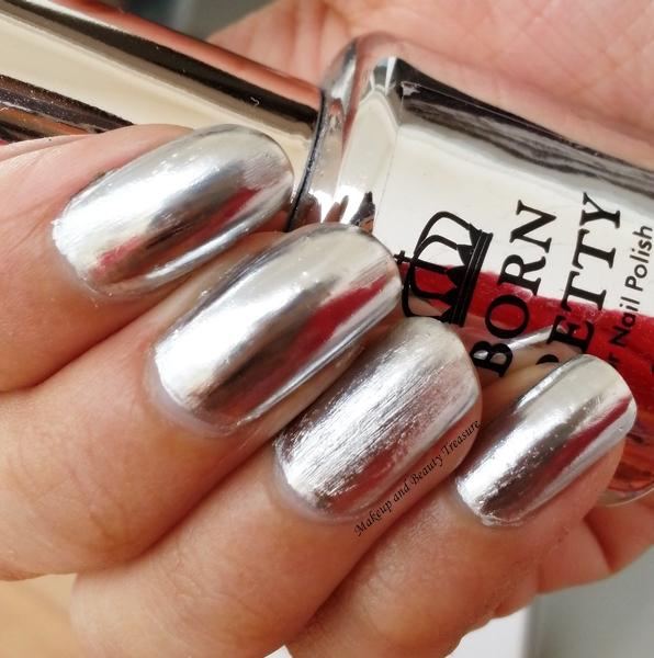 Makeup and Beauty Treasure: Born Pretty Store Mirror Nail Polish ...