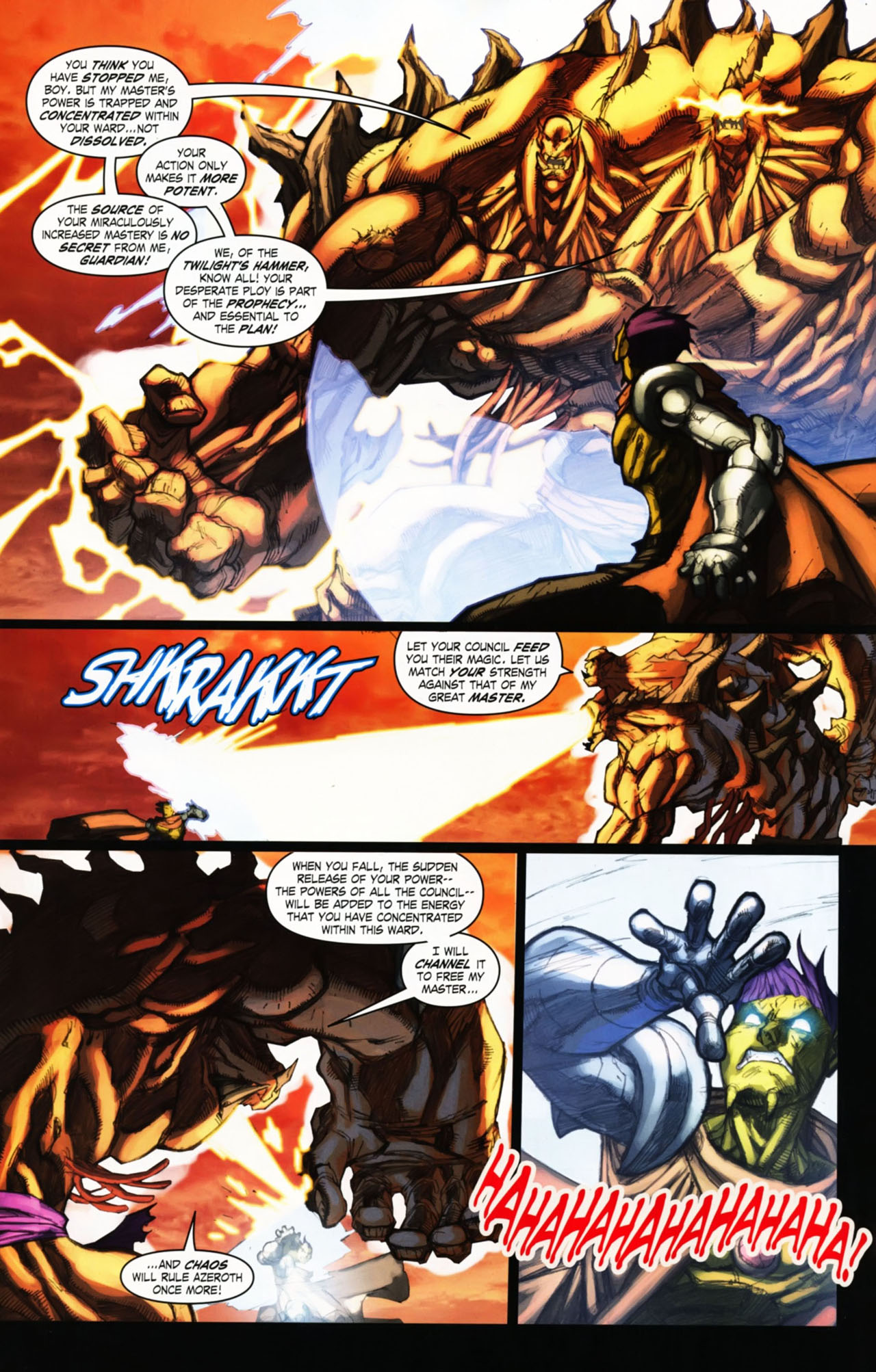 Read online World of Warcraft comic -  Issue #25 - 21