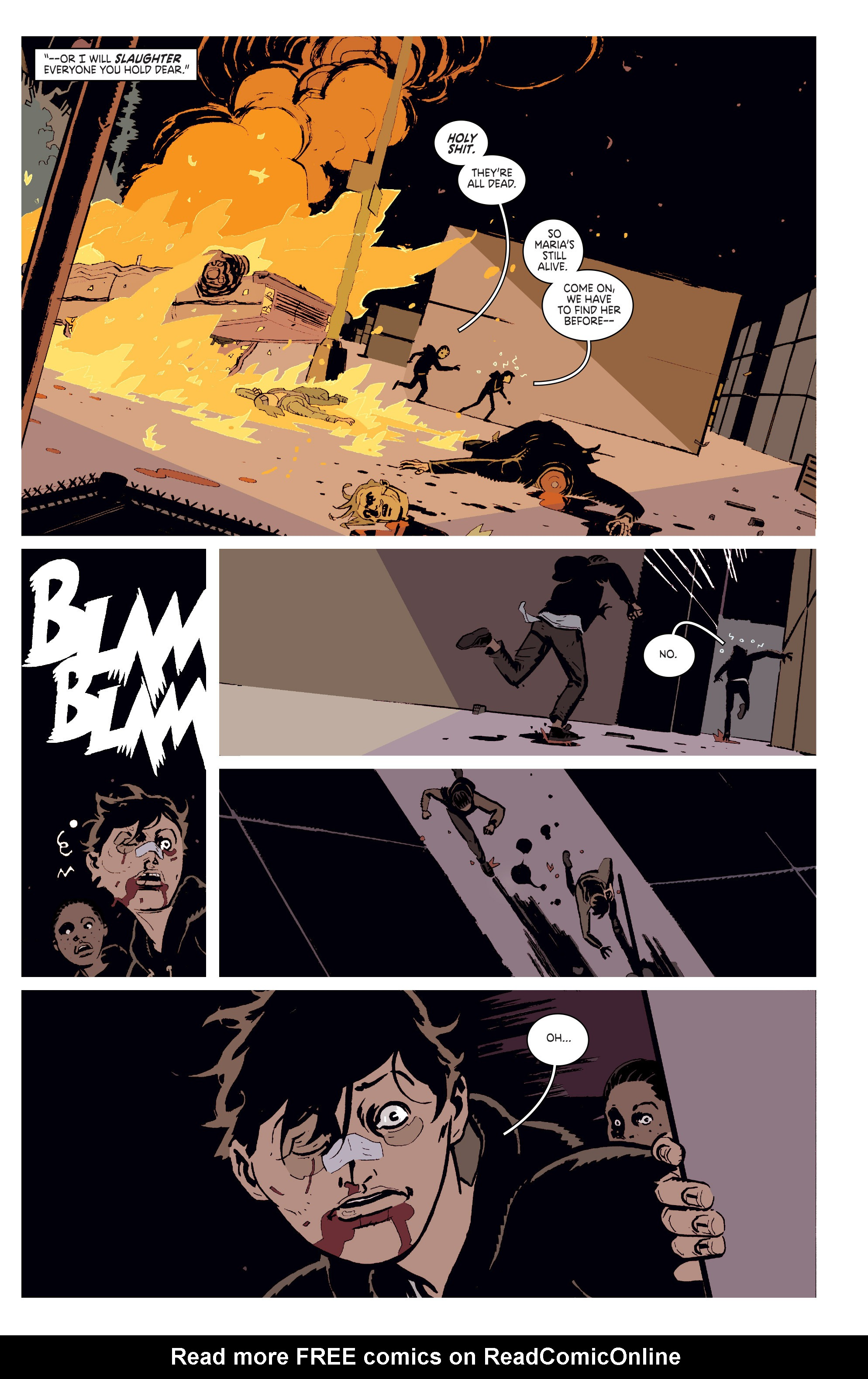 Read online Deadly Class comic -  Issue # _TPB 3 - 42