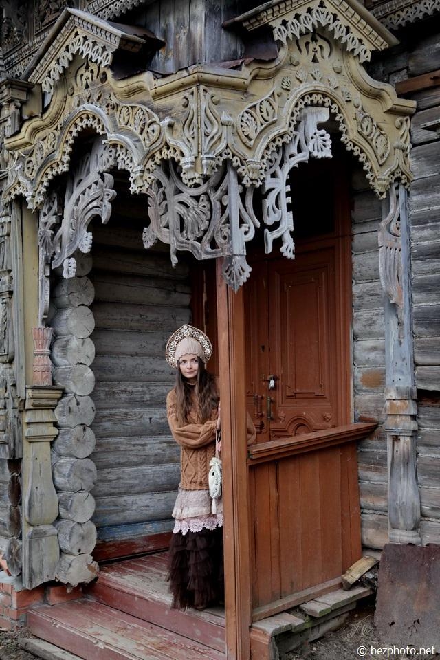 самые красивые деревянные дома рмира