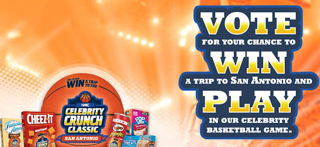 KELLOGG CELEBRITY CRUNCH CLASSIC SWEEPSTAKES