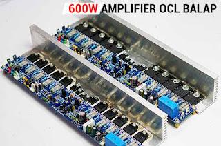 600W Power Amplifier OCL BALAP