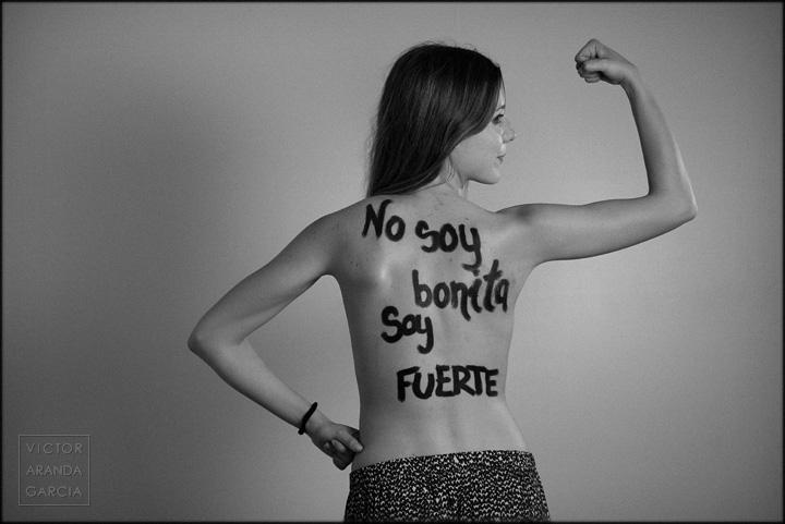 fotografía, retrato, estudio, Amnistía Internacional, Valencia, bonita, fuerte