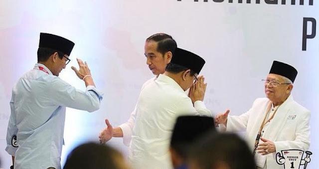 Waspadai Prabowo, Petahana Dinilai Kurang Yakin dengan Prestasinya Sendiri