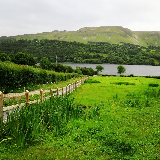 Glencar Lough in County Sligo, Ireland