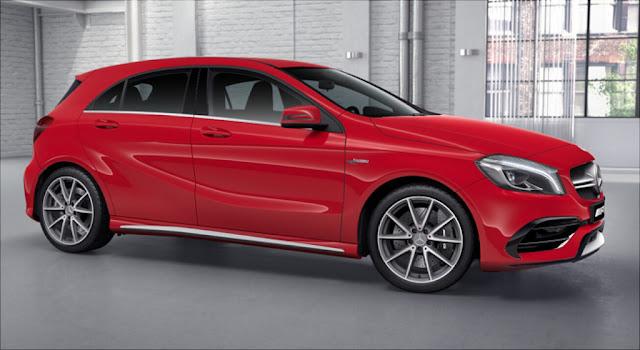 Mercedes AMG A45 4MATIC 2019 là mẫu Hatchbach thế hệ mới
