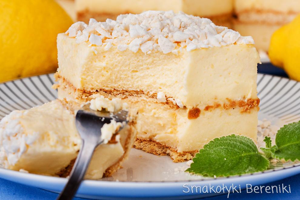 ciasto cytrynowiec z bezami