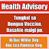 Dr. Willie Ong's Health Advisory About the Controversial Dengue Vaccine (Dengvaxia)