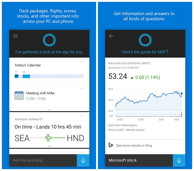 Cortana apk free downlaod latest