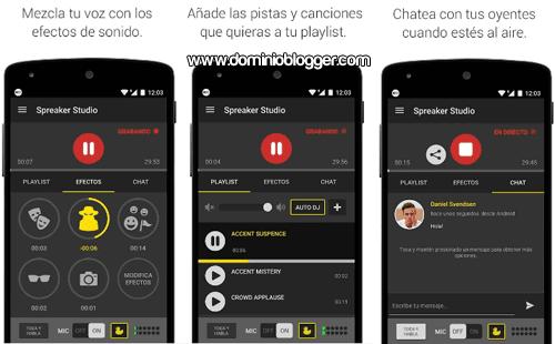 Crea tu radio online con Spreaker Studio