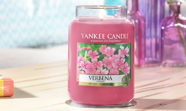 avis Verbena de Yankee Candle