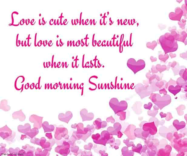 good morning sunshine quotes image