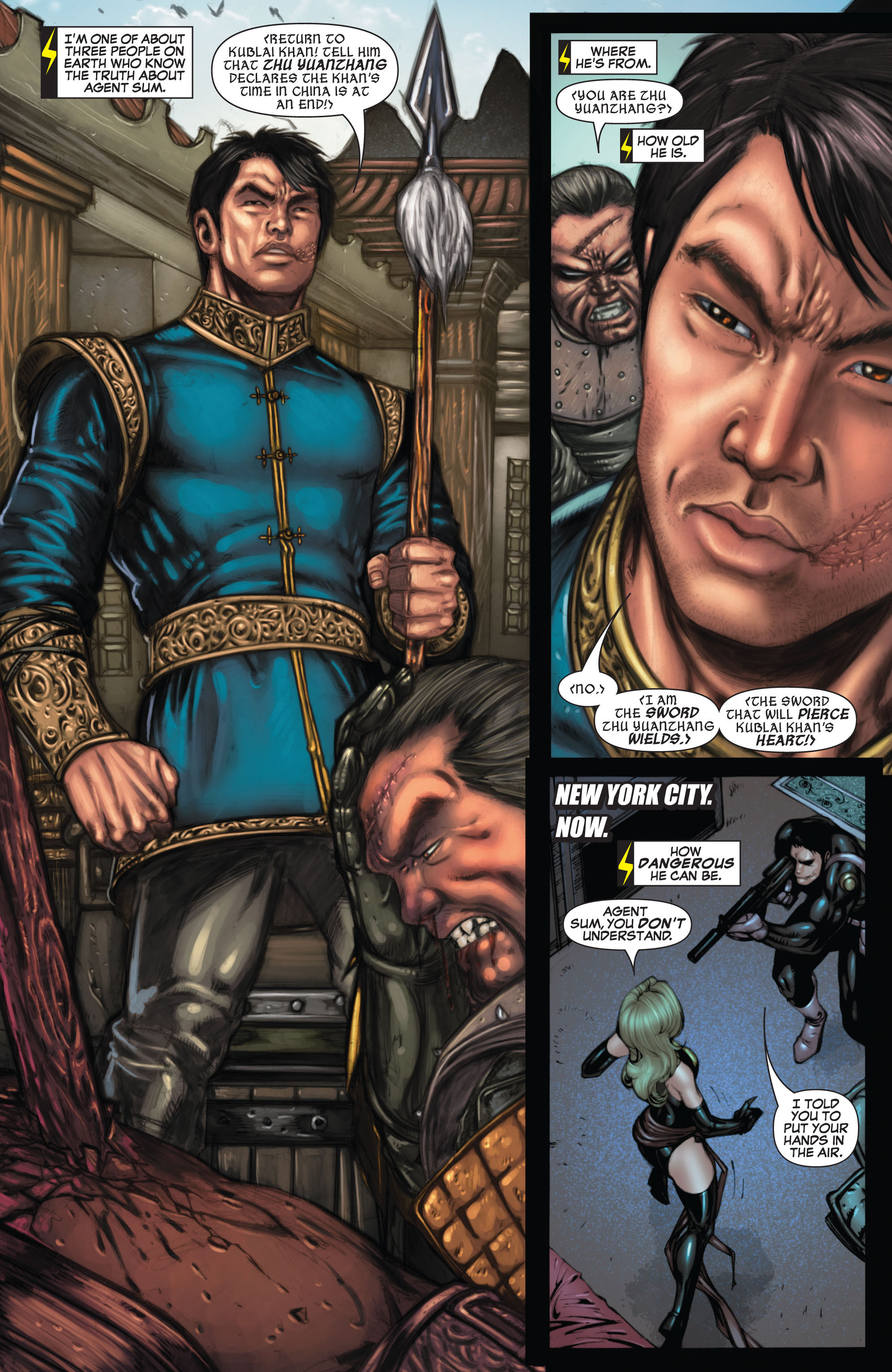 Read online Secret Invasion: The Infiltration comic -  Issue #9 - 4