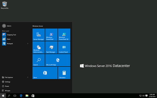Download Windows Server 2016 Datacenter