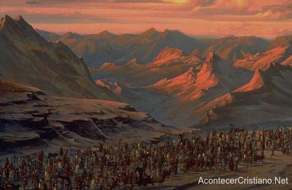 Evidencias del Éxodo de israelitas