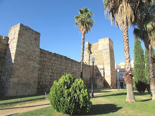 Alcazaba; castillo; Mérida; Badajoz; Extremadura; Vía de la Plata