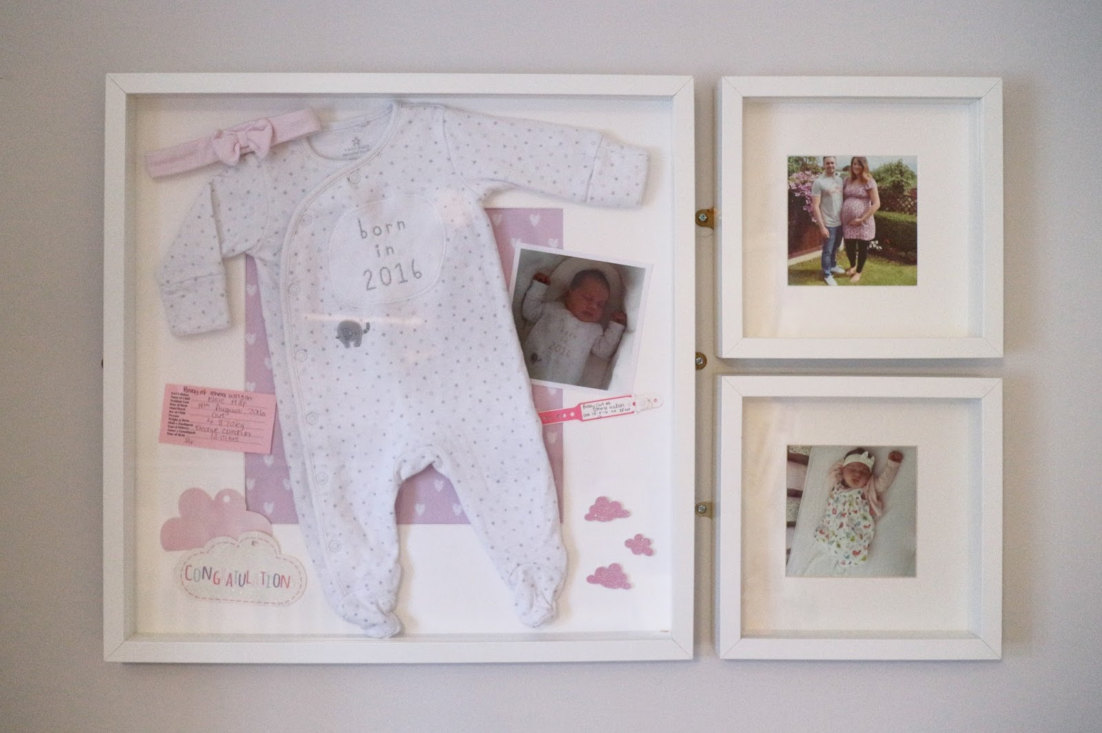 How To Make A Memory Frame Life With Oliver And Elsie
