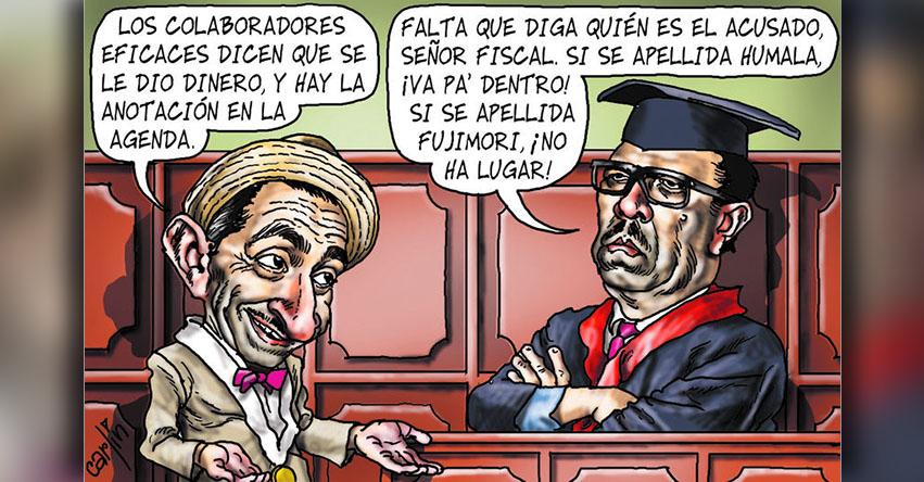 Carlincaturas Domingo 6 Agosto 2017 - La República
