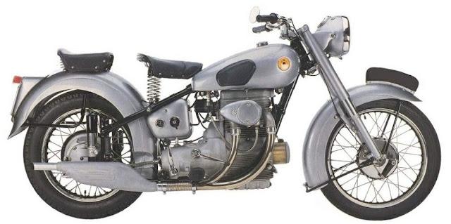 Sunbeam S8 1950s British classic motorcycle