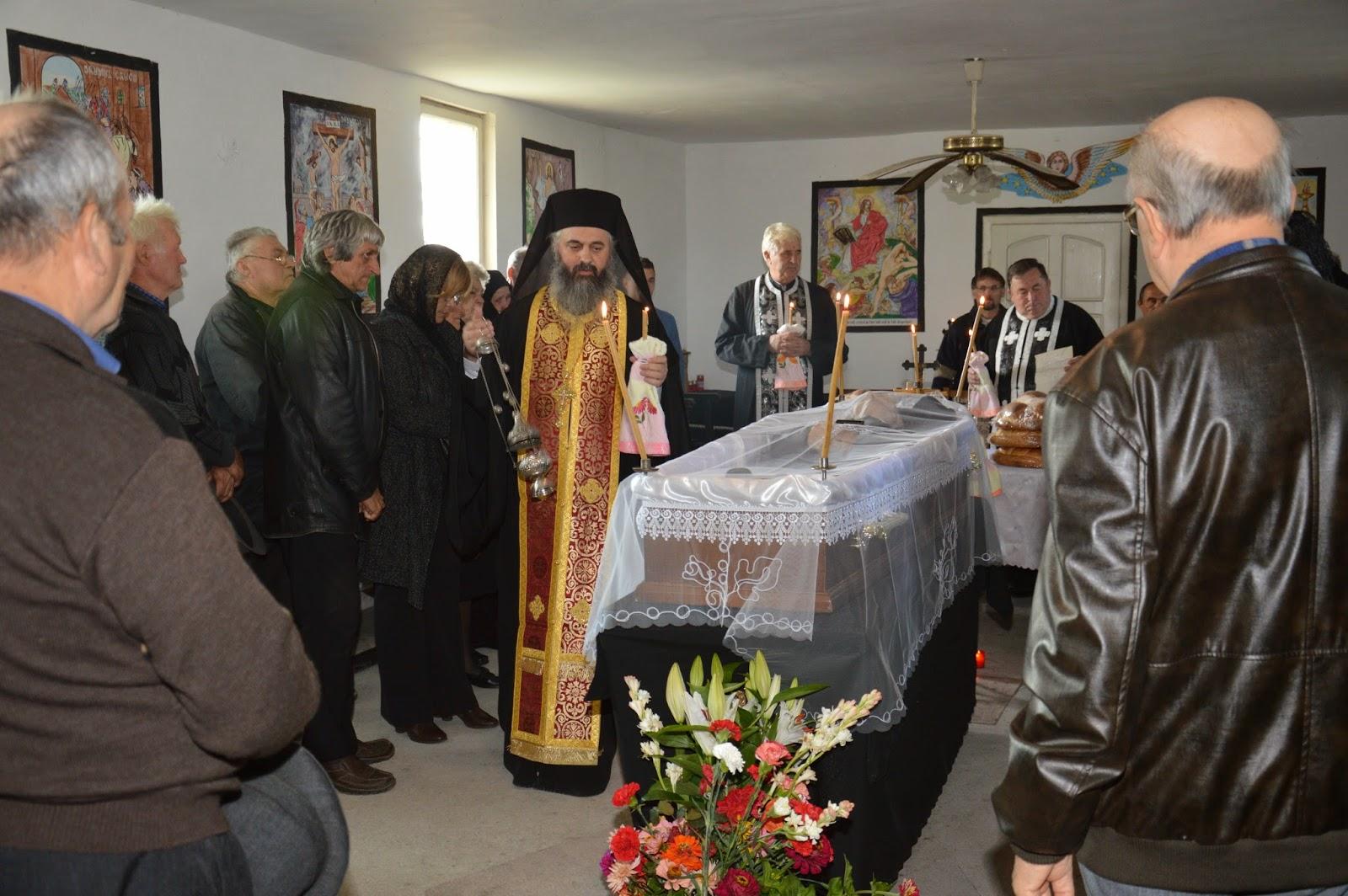 Inmormantarea unchiului Leon Lazar, Calan, Hunedoara
