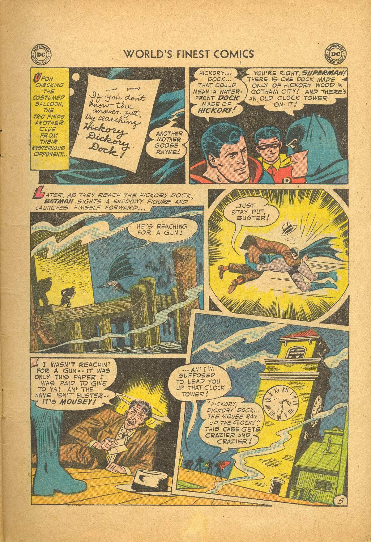 Read online World's Finest Comics comic -  Issue #83 - 7
