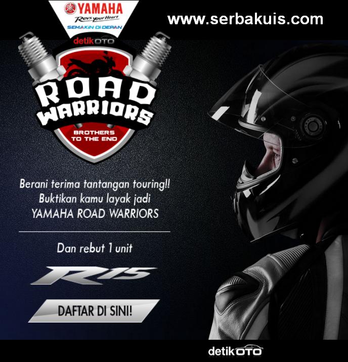 Berani Touring? Ikutan Kontes Ini Berhadiah Yamaha R15
