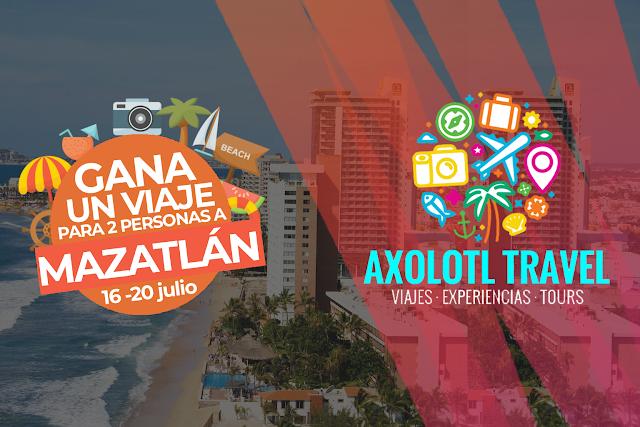 Y el Ganador del viaje a Mazatlán todo pagado es...
