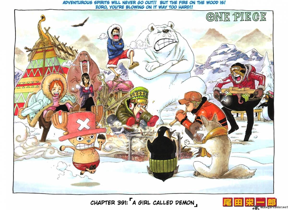 One Piece Ch 391
