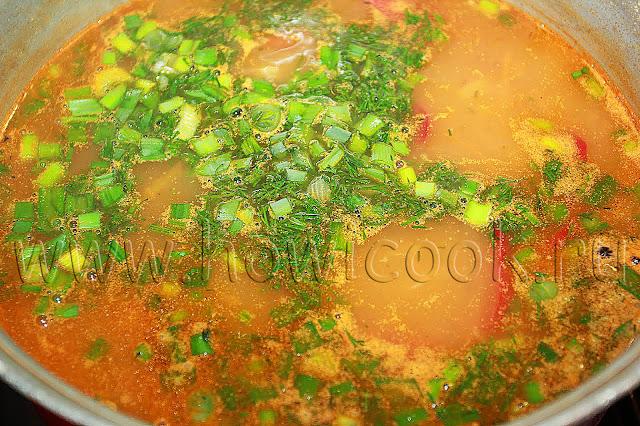 рецепт постного супа с фасолью с пошаговыми фото