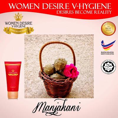 KANDUNGAN BAHAN DALAM WOMEN DESIRE V HYGINE FEMININE WASH