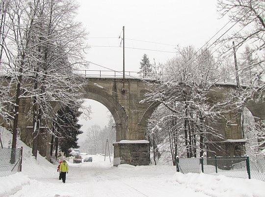 Wisła Dziechcinka. Wiadukt kolejowy z 1932 roku.