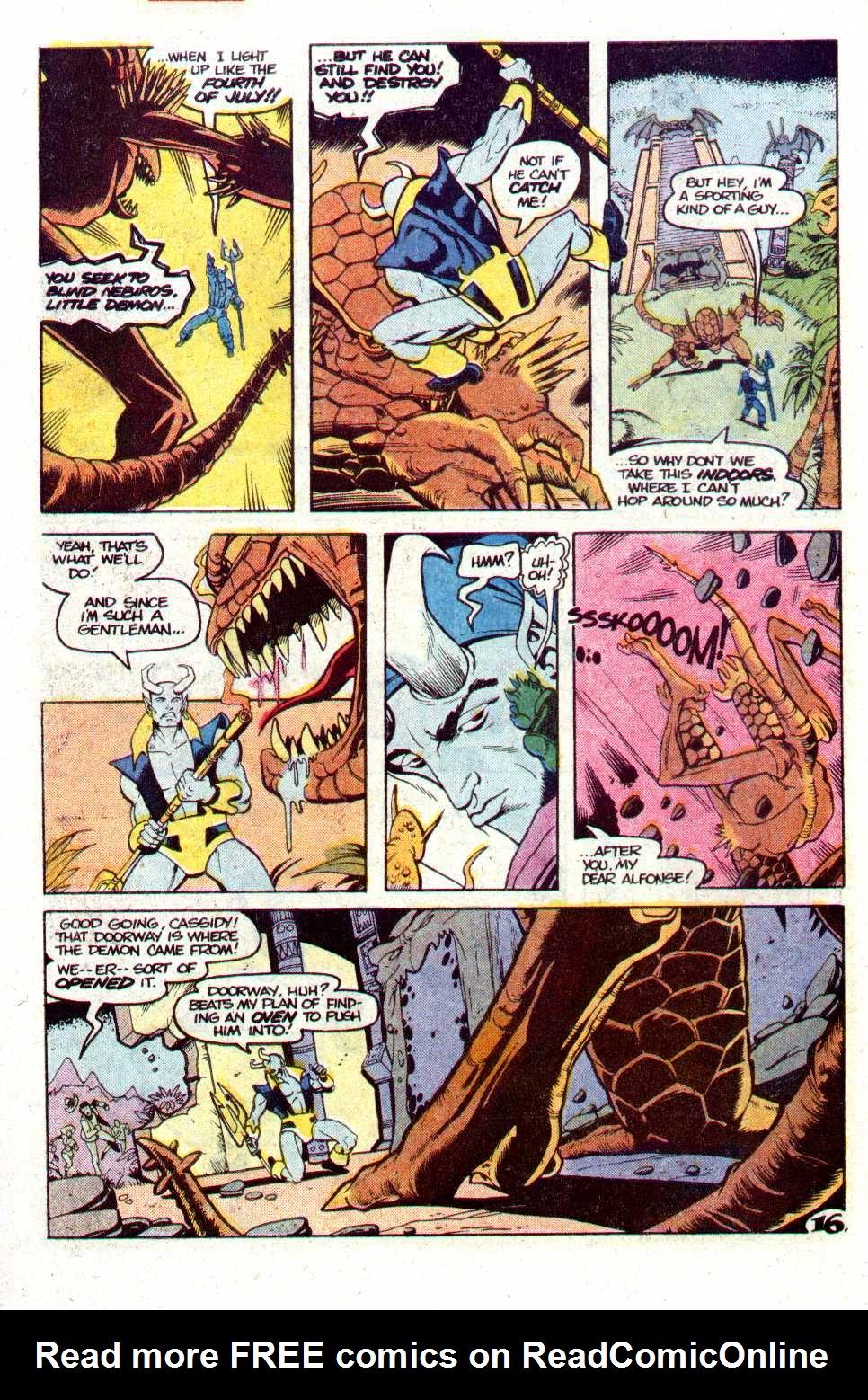 Read online Secret Origins (1986) comic -  Issue #24 - 17