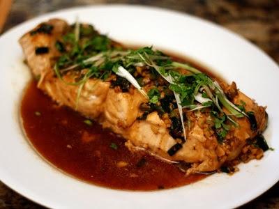 Resep Masakan Ikan Salmon