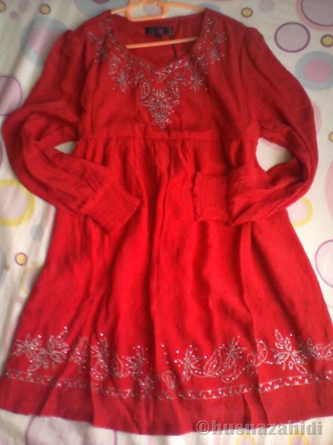 blouse merah, zalora malaysia