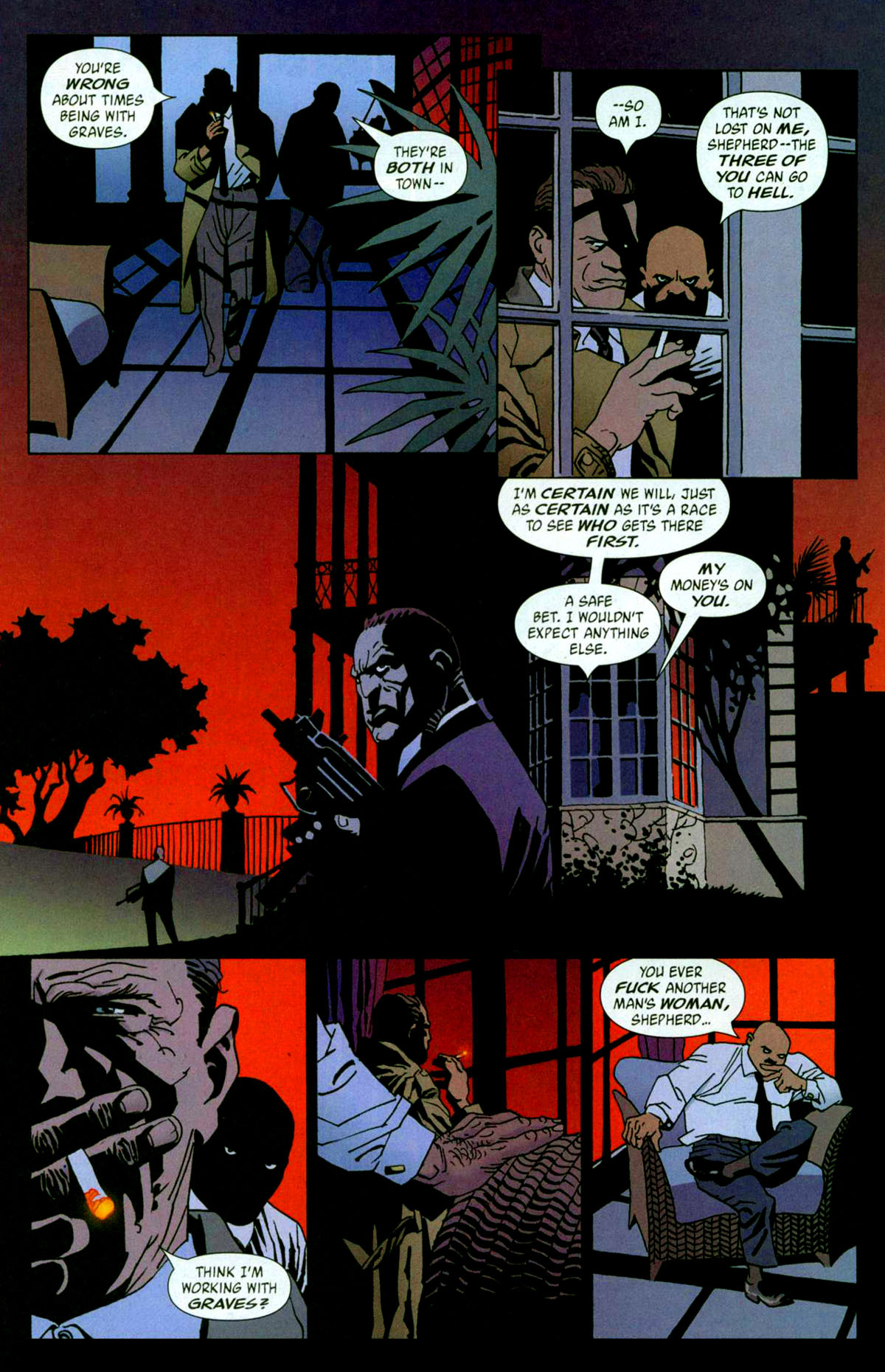 Read online 100 Bullets comic -  Issue #56 - 11