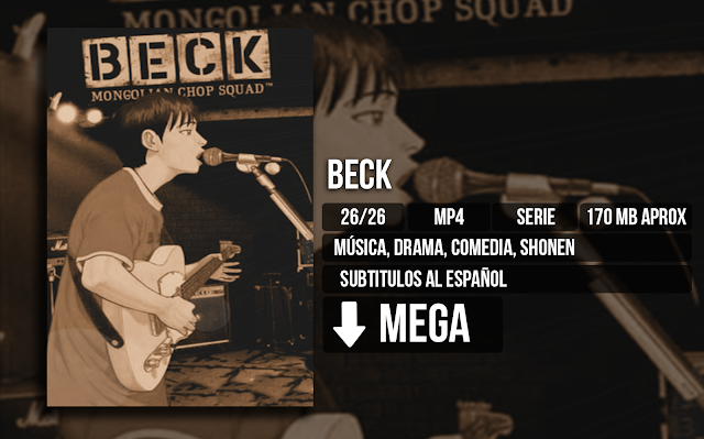 Beck - Beck: Mongolian Chop Squad [AVI][MEGA][26/26] - Anime Ligero [Descargas]