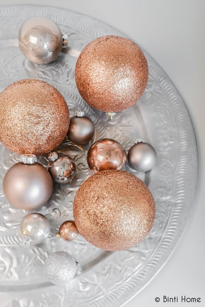 copper baubles